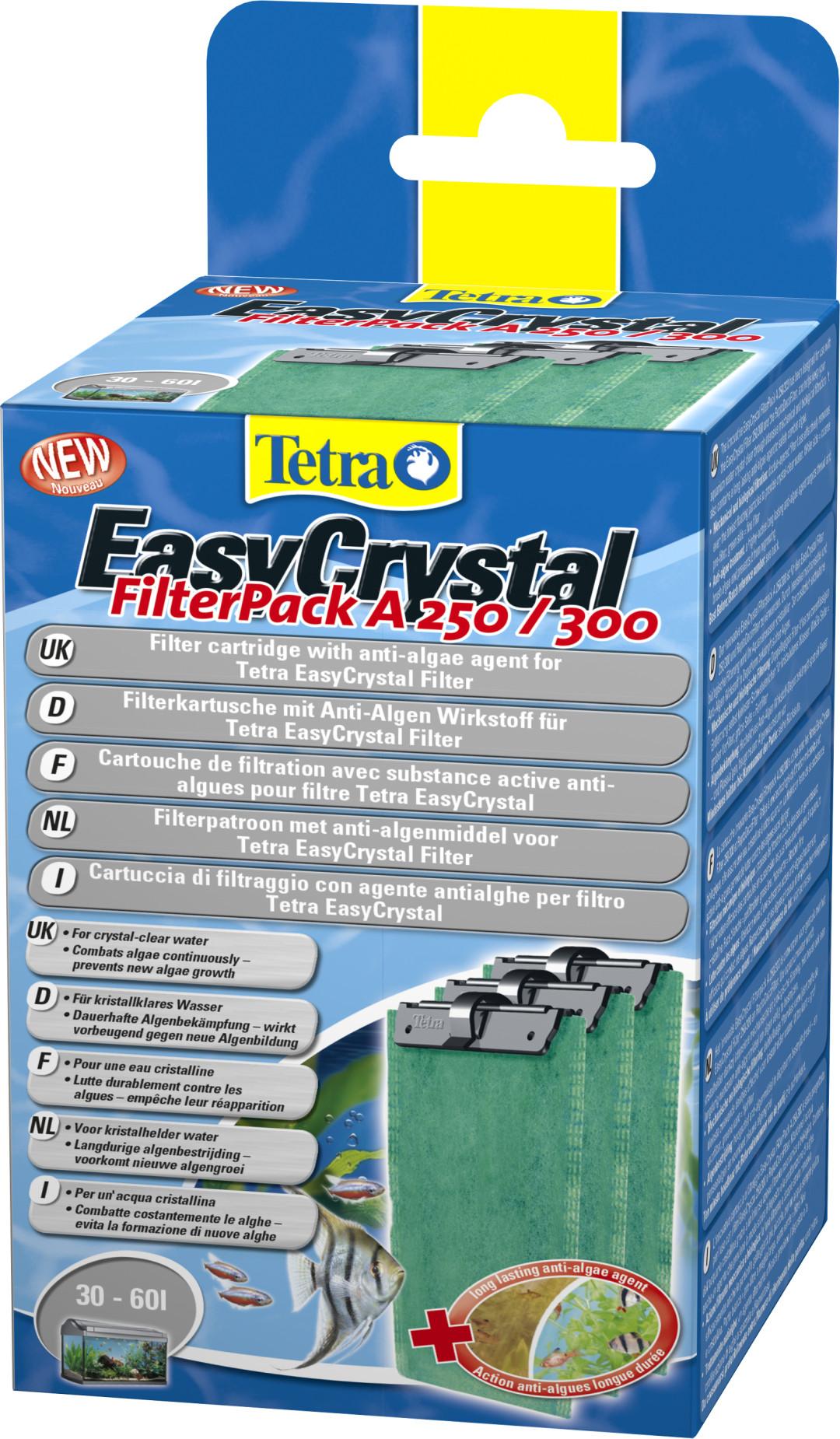 Tetra EasyCrystal filterpack A250/300 <br>60 ltr