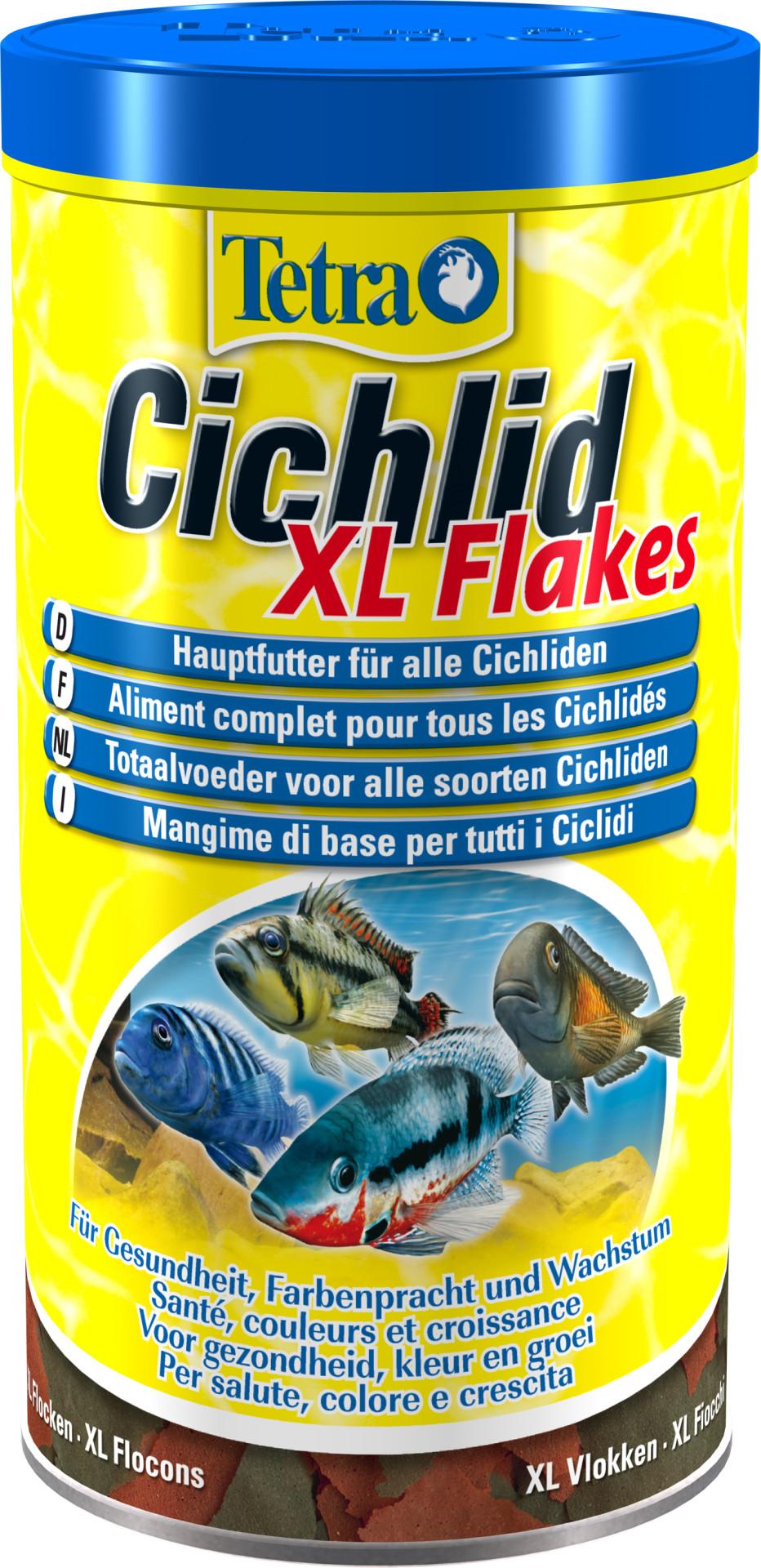 Tetra Cichlid XL flakes 1 ltr