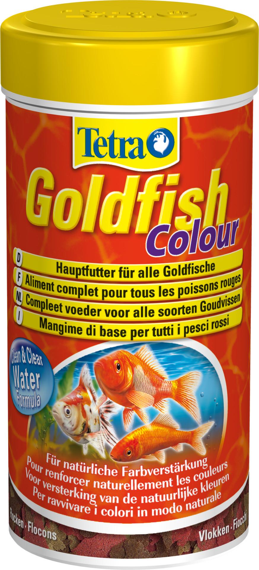Tetra Goldfish Colour vlokken 250 ml