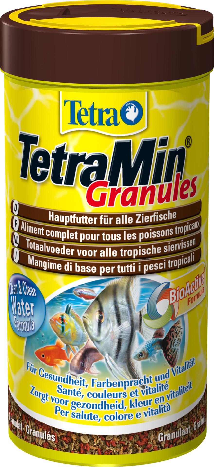 Tetra Min granules <br>Bio-active 250 ml