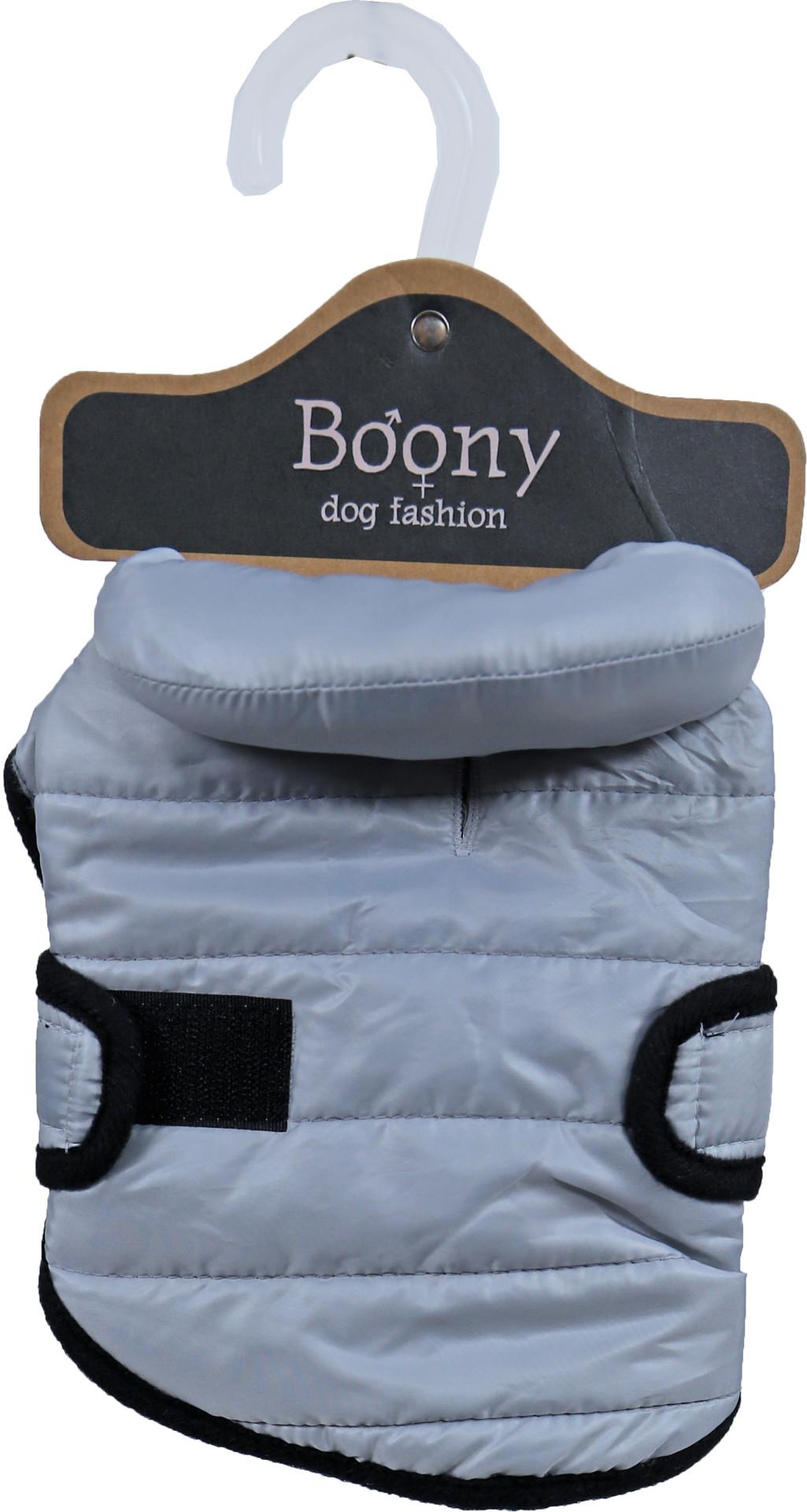 Boony EST. 1941 hondenjas quilted nylon grijs