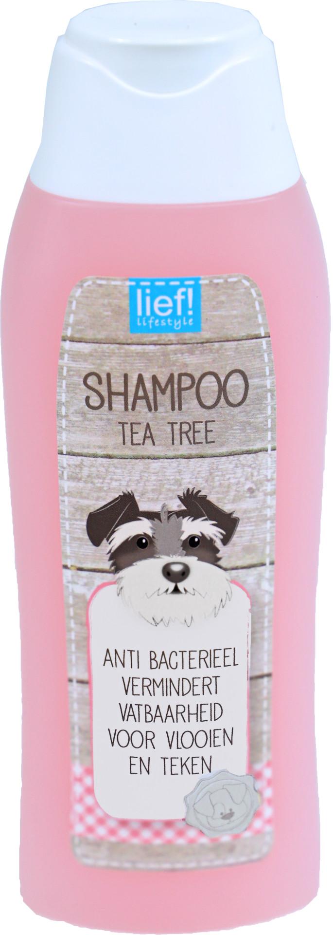 lief! lifestyle shampoo Tea Tree olie 300 ml