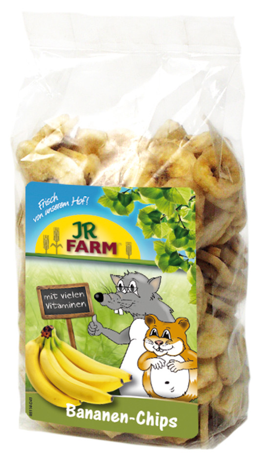 JR Farm bananenchips 150 gr