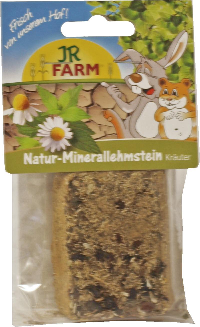 JR Farm knaagsteen mineralen/leem/kruiden 100 gr