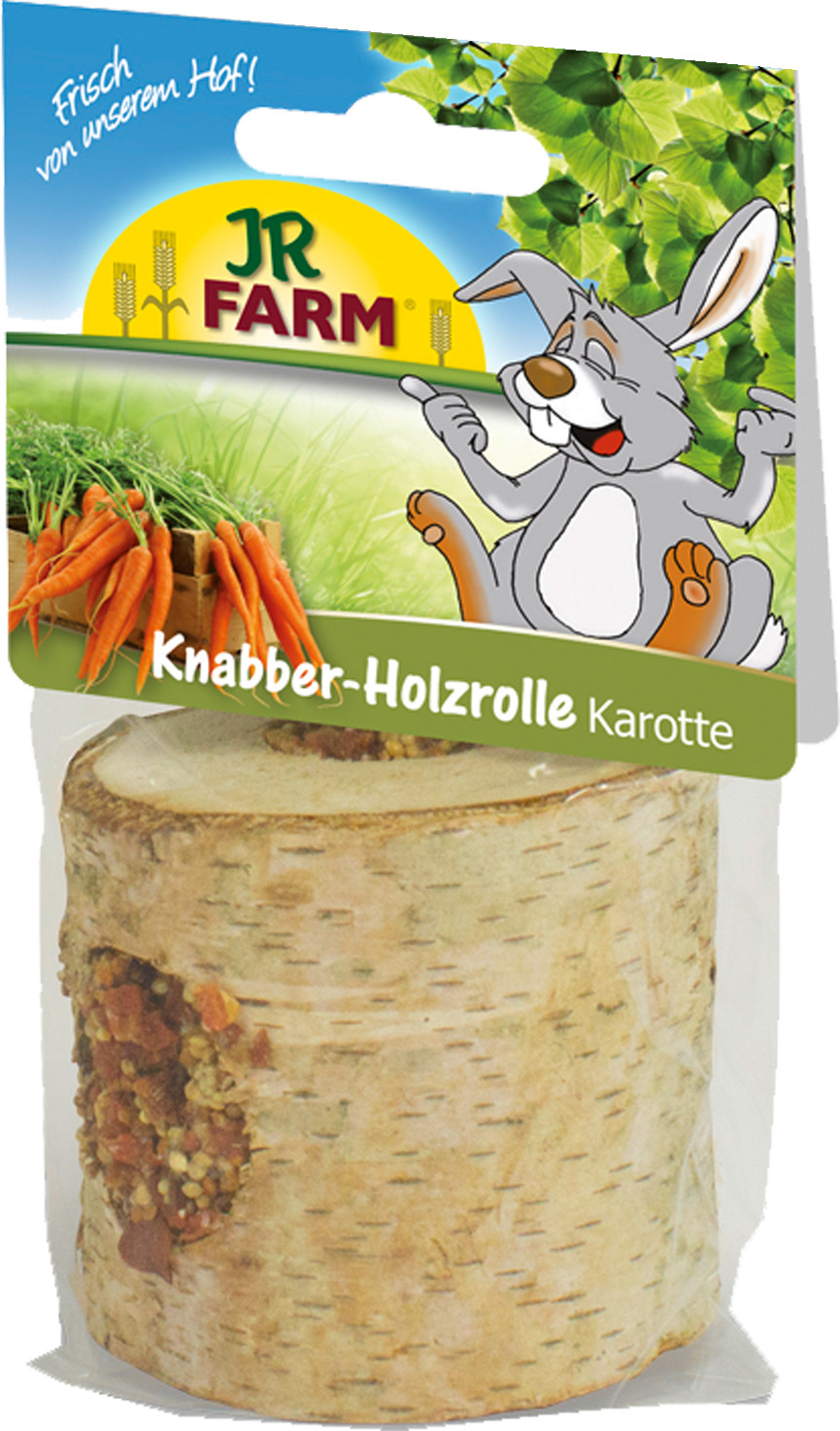 JR Farm knaagrol hout met wortel 150 gr
