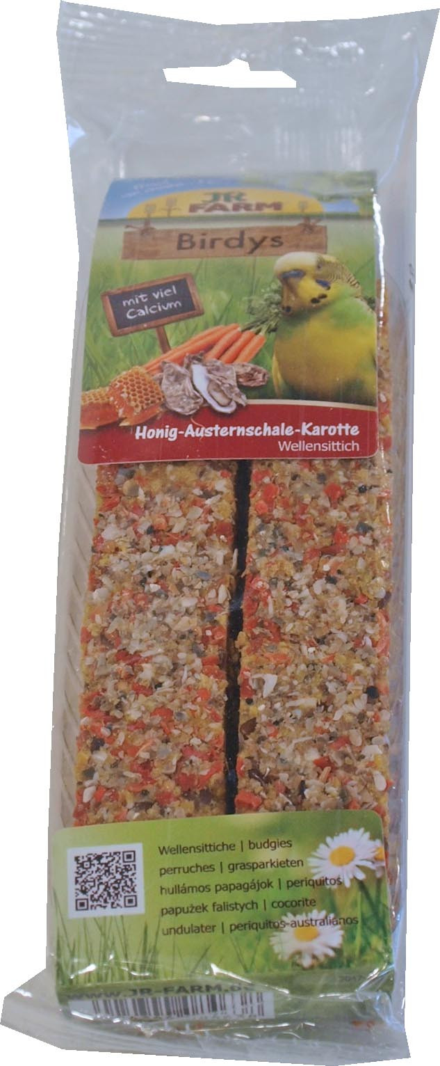 JR Farm Birdy parkiet honing/oesterschel/ wortel 130 gr