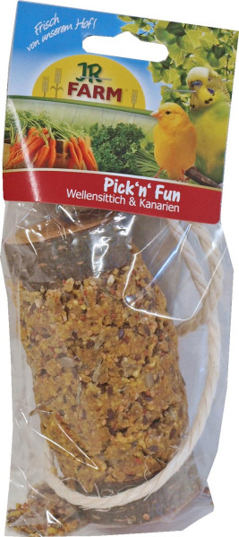 JR Farm Pick'n'Fun grasparkiet & kanarie 135 gr