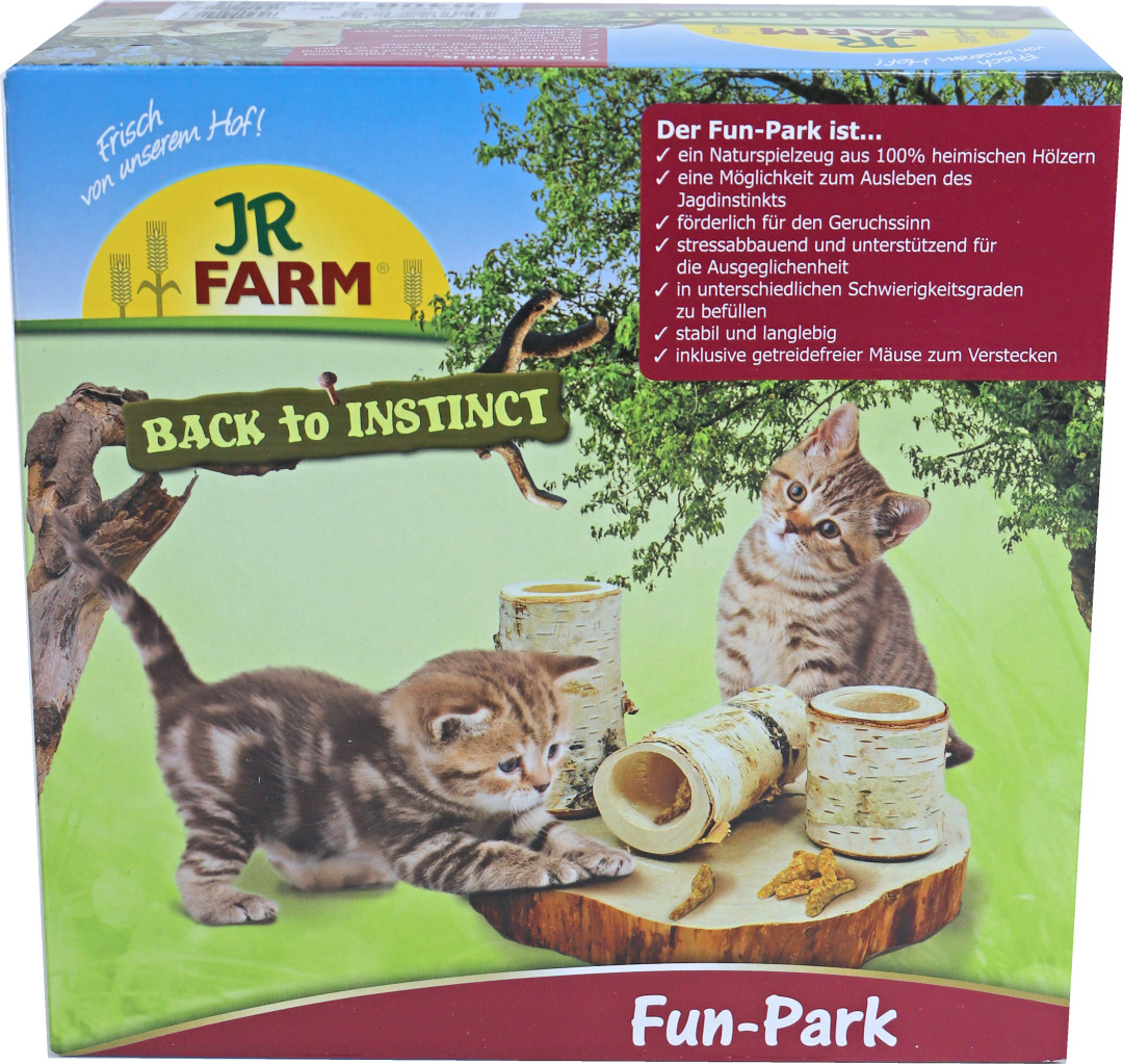JR Farm cat natuurlijk fun park