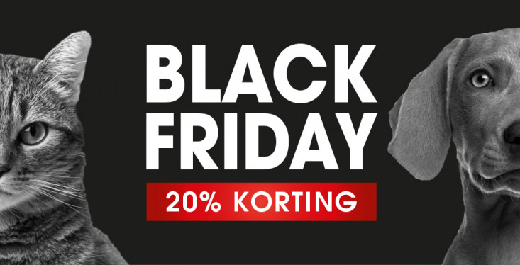 20% Black Friday-korting!
