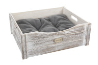 Scruffs Rustic wooden bed driftwood thumb
