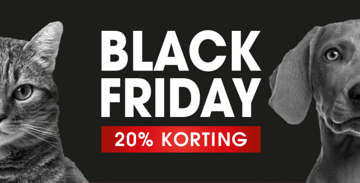 20% Black Friday-korting!