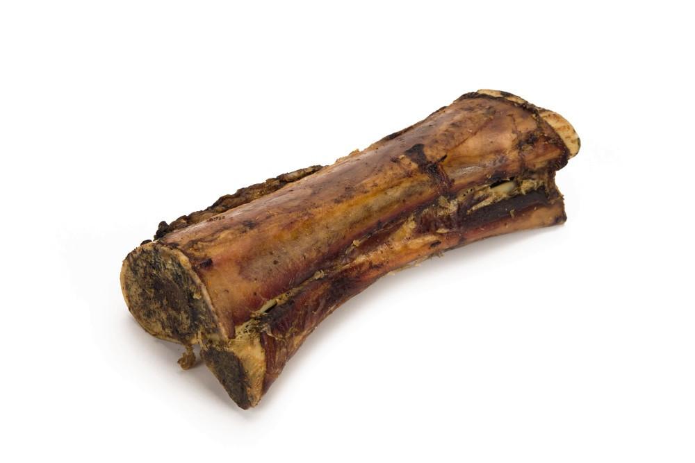 Beeztees gedroogde rundermergpijp <br>18 - 20 cm
