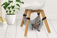 Beeztees hangmat voor stoel Loungy grijs thumb