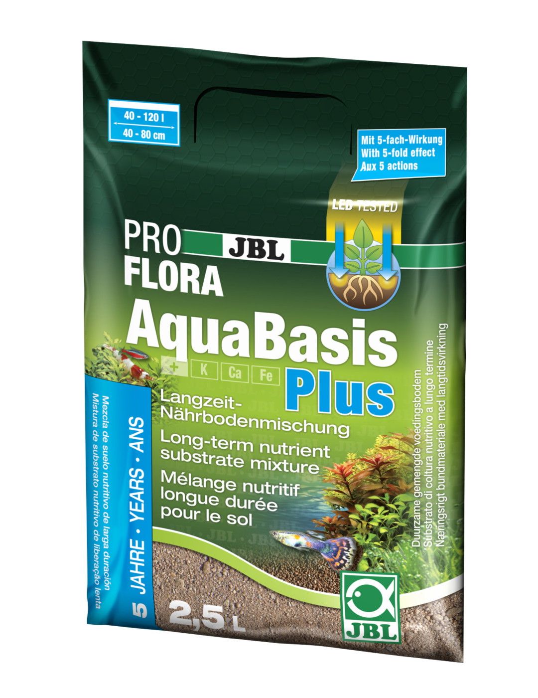 JBL AquaBasis plus <br>2,5 ltr