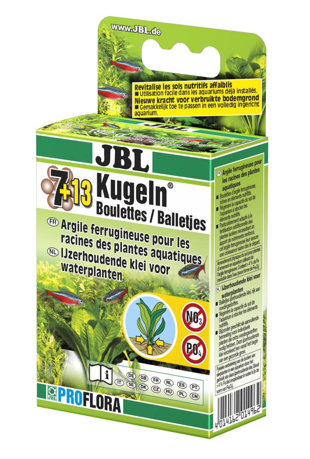 JBL Balletjes 7 + 13 st