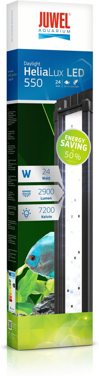 Juwel ledverlichting HeliaLux LED 550 <br>24 watt
