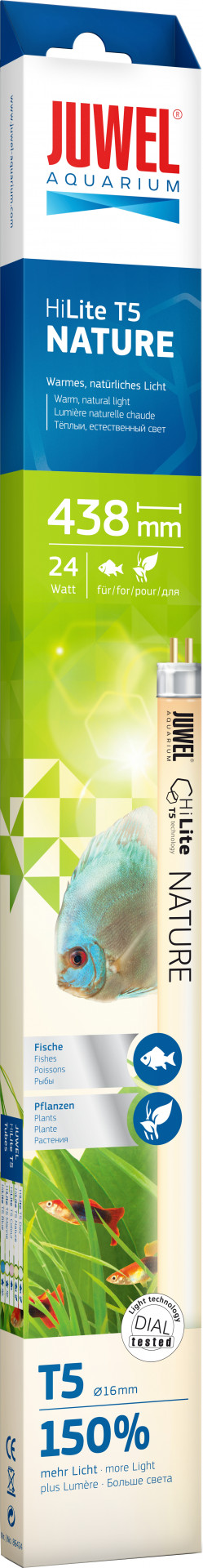 Juwel verlichting HiLite T5 Nature 438 mm <br>24 watt