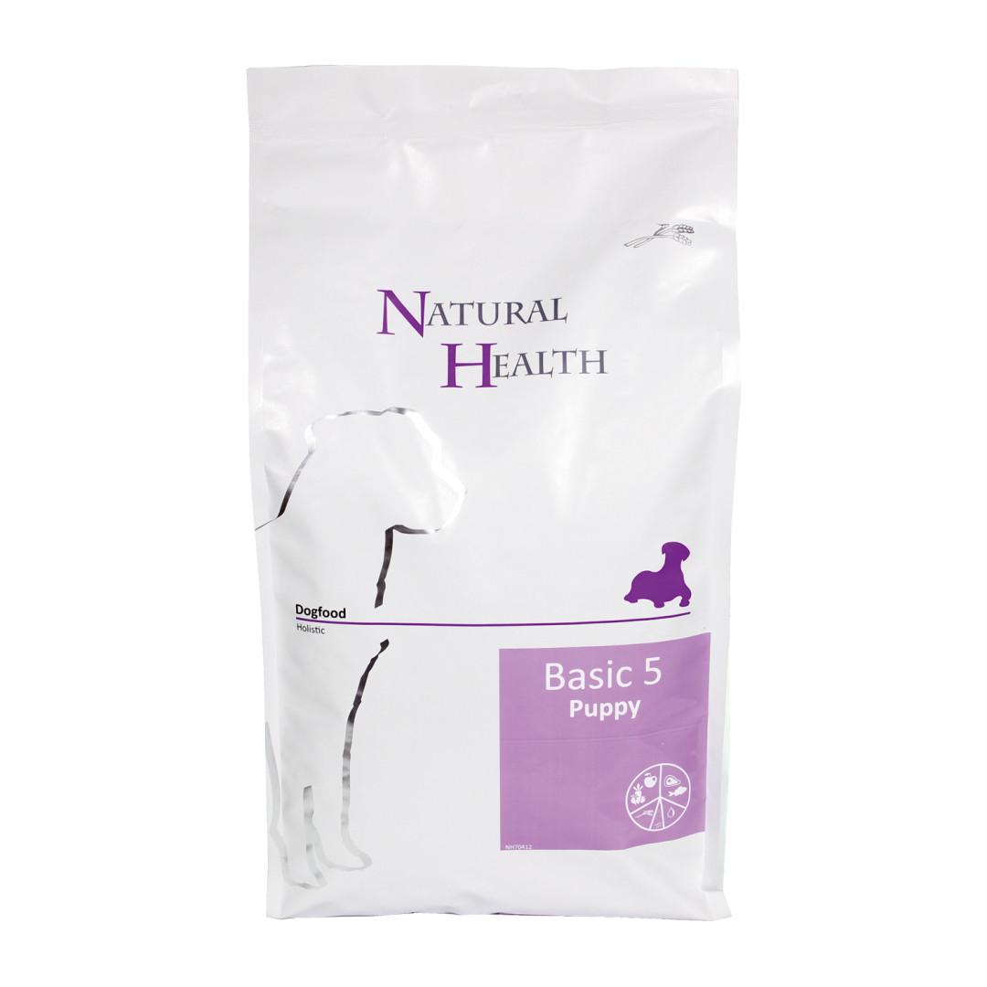 Natural Health hondenvoer Basic 5 Puppy 7,5 kg