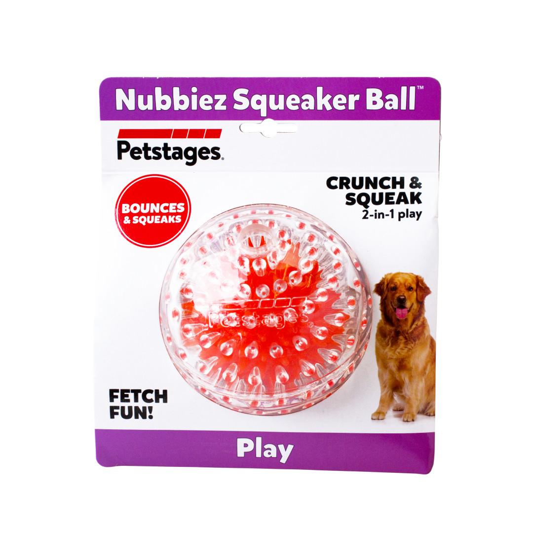 Petstages Nubbiez Squeaker Ball