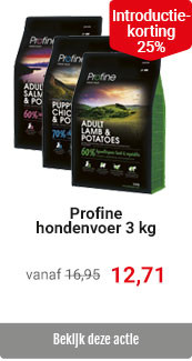Profine 3kg verpakking 25% korting