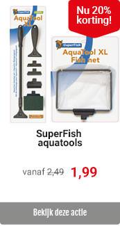 Superfish schoonmaak tools 20% korting