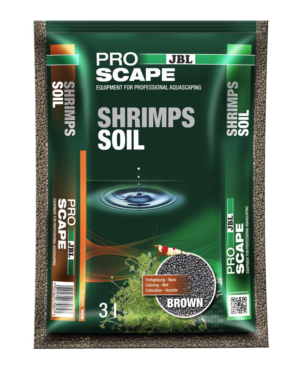 JBL ProScape ShrimpsSoil brown 3 ltr