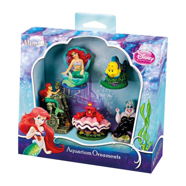 De Kleine Zeemeermin aquariumdecoratie giftpack