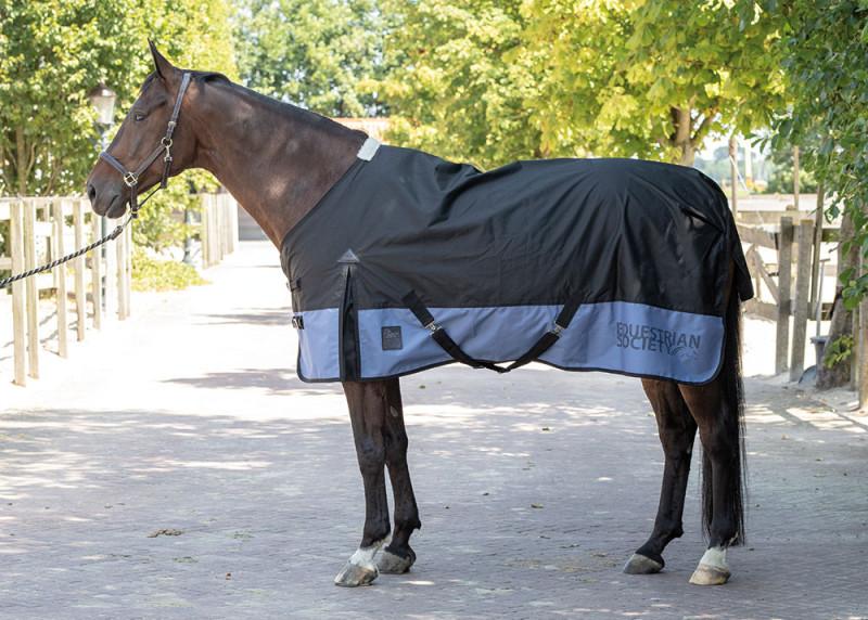 Harry's Horse regendeken Thor 0gr <br>jet black