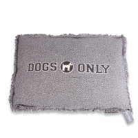Lex & Max boxbed Dogs Only grey thumb