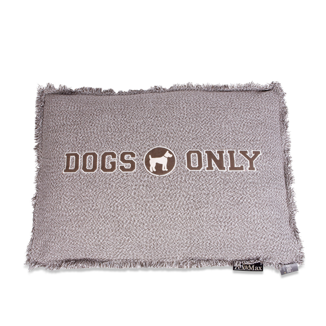 Lex & Max boxbed Dogs Only taupe