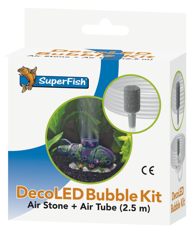 SuperFish DecoLED Bubble Kit
