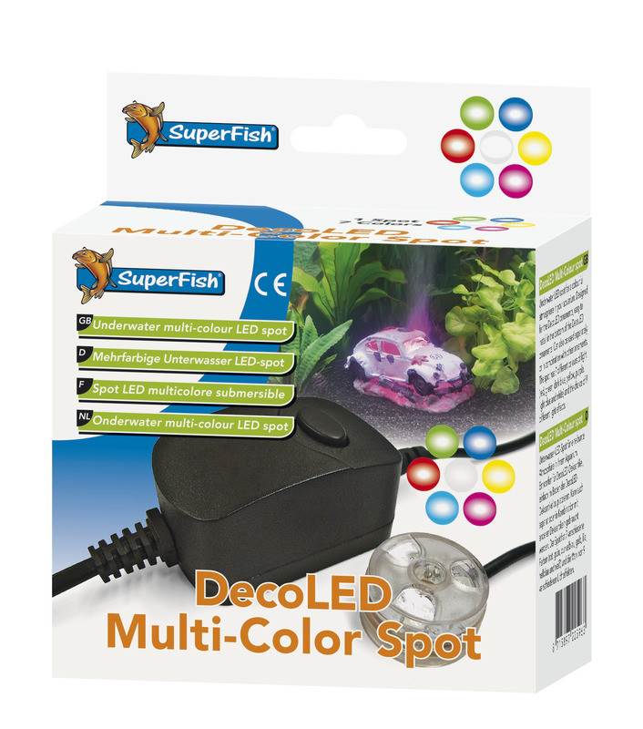 SuperFish DecoLED Multi-color Spot