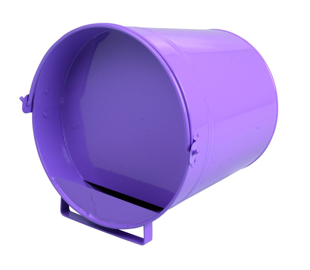 Gaun pluimvee drinkemmer 7 ltr purple