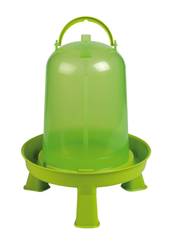 Gaun pluimvee drinktoren op pootjes green lemon