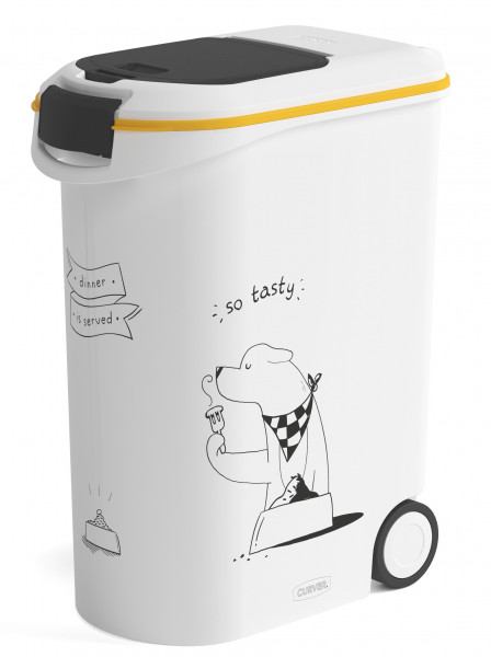 Curver voedselcontainer Dinner is Served hond 54 ltr