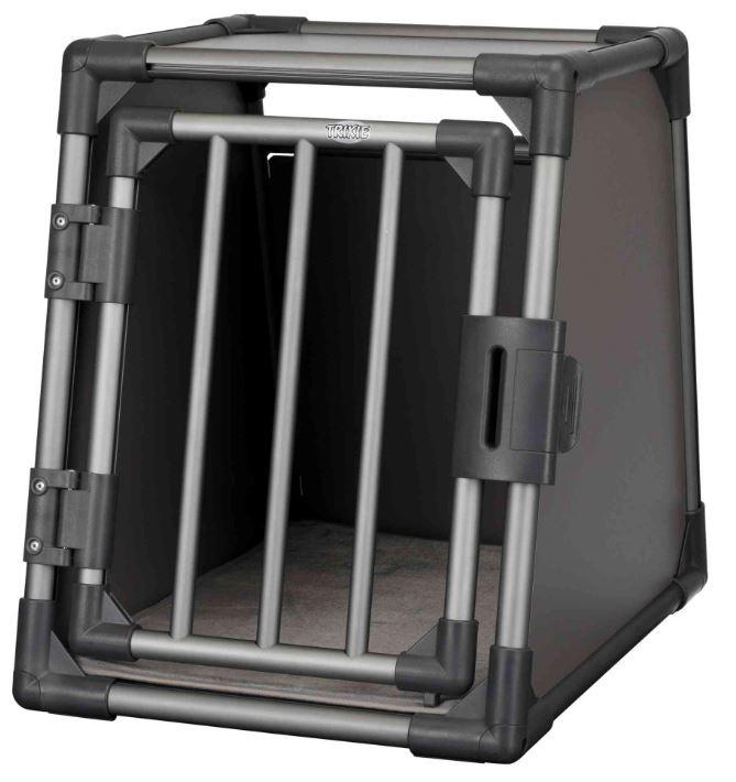 TRIXIE vervoersbox  aluminium S grafiet