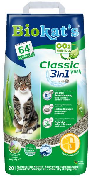 Biokat's kattenbakvulling Classic Fresh 20 ltr