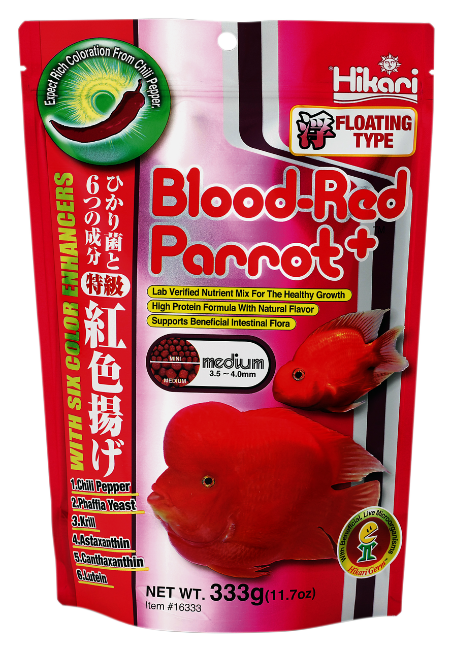 Hikari Blood-Red Parrot Plus Medium 333 gr