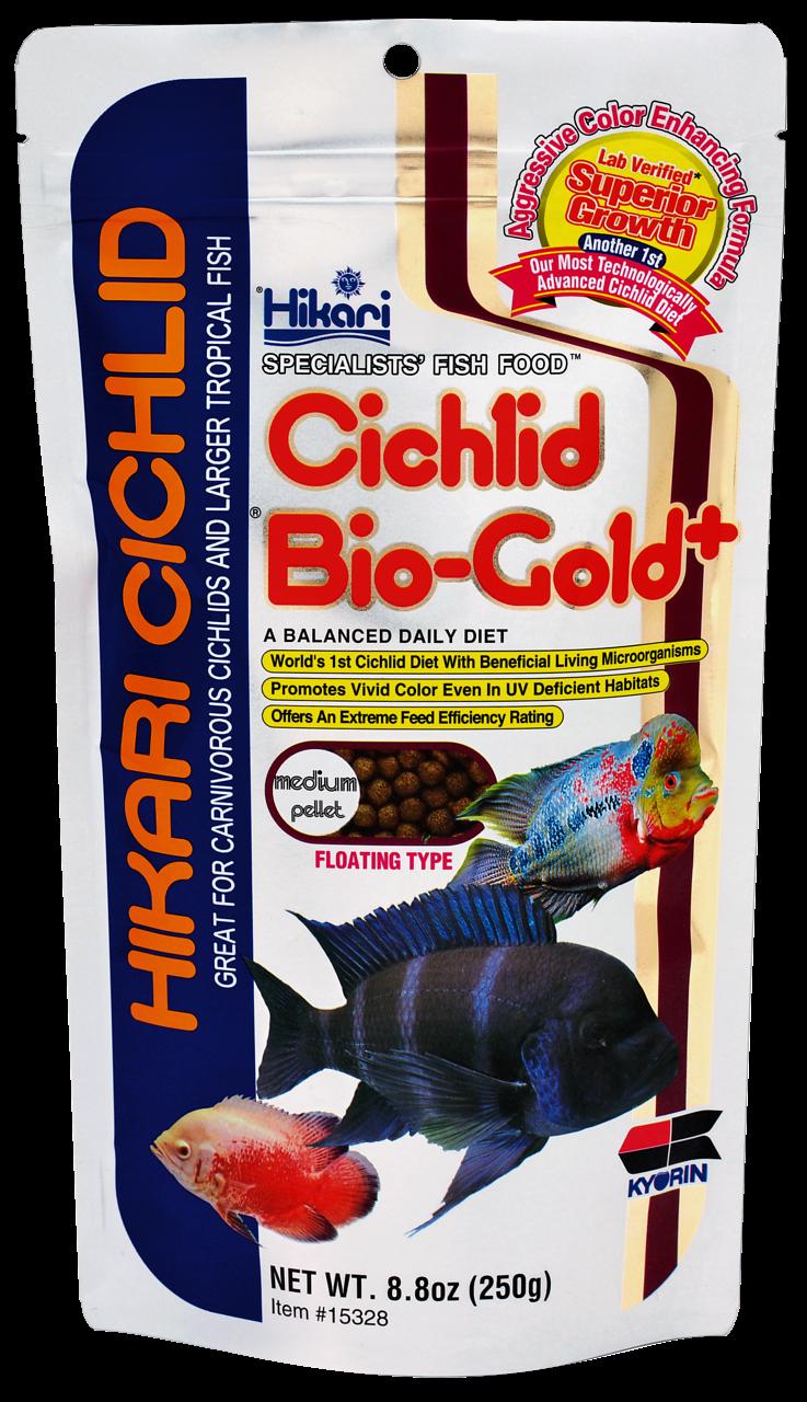 Hikari Cichlid Bio-Gold Plus Medium 250 gr