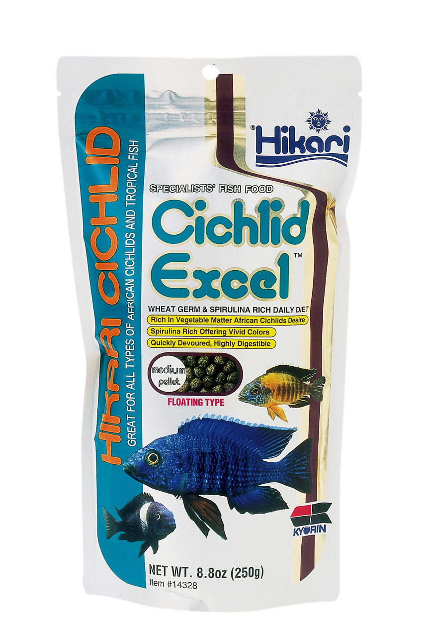Hikari Cichlid Excel Medium 250 gr