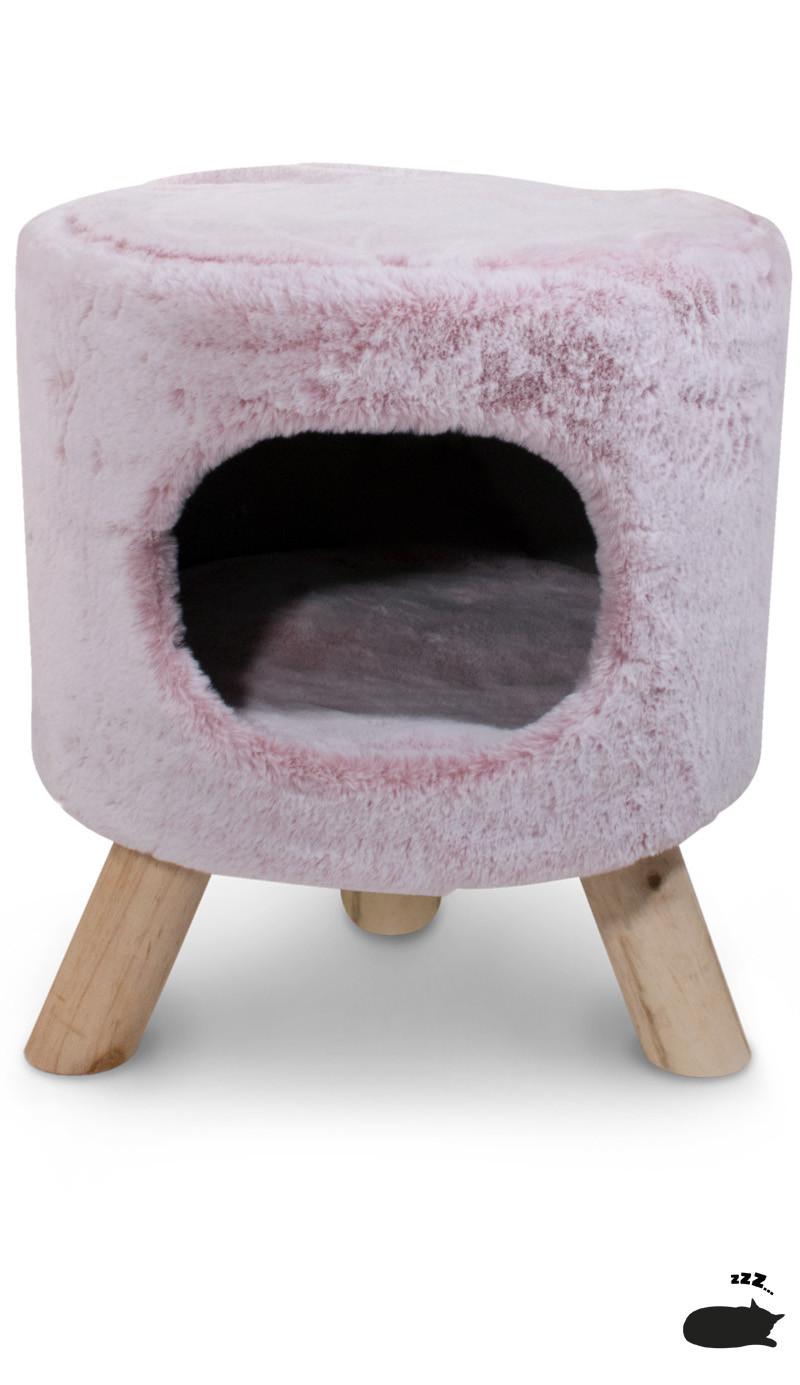 Petrebels poef Kings & Queens Victoria de Luxe 45 ice-pink