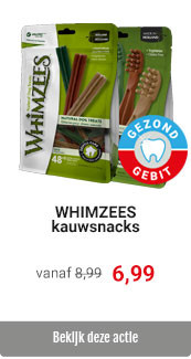 Whimzees valuepacks voor 6,99