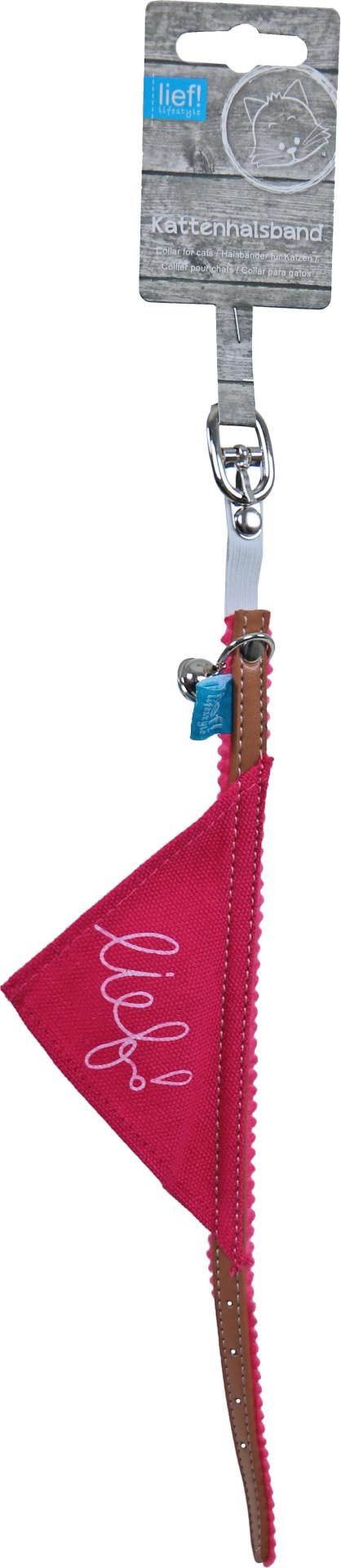 lief! lifestyle Girls kattenhalsband met zakdoek