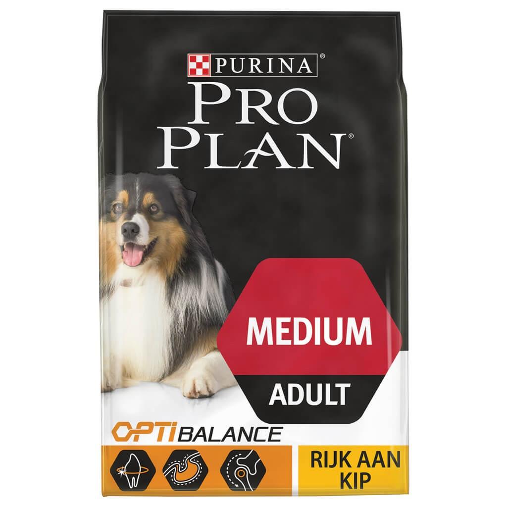 Pro Plan hondenvoer Medium Adult kip 3 kg