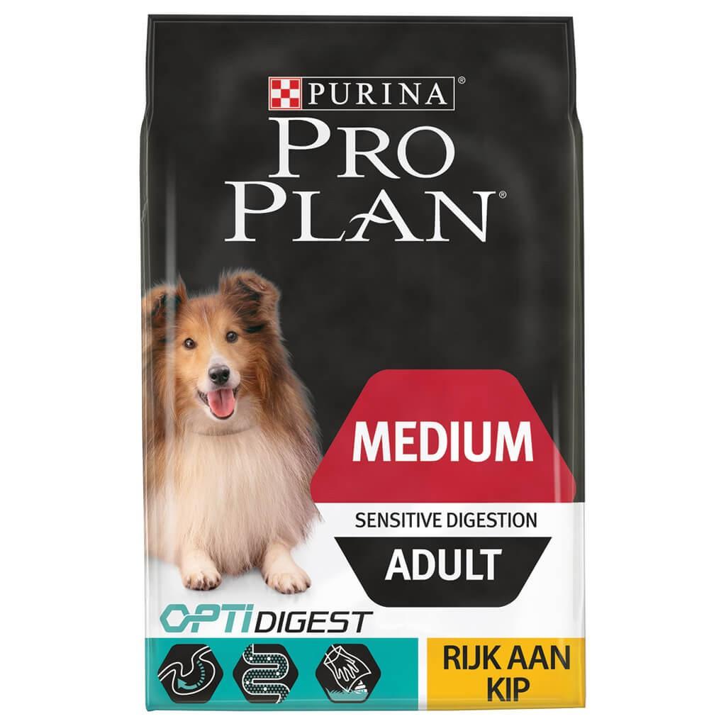 Pro Plan Medium Adult Sensitive Digestion kip 3 kg