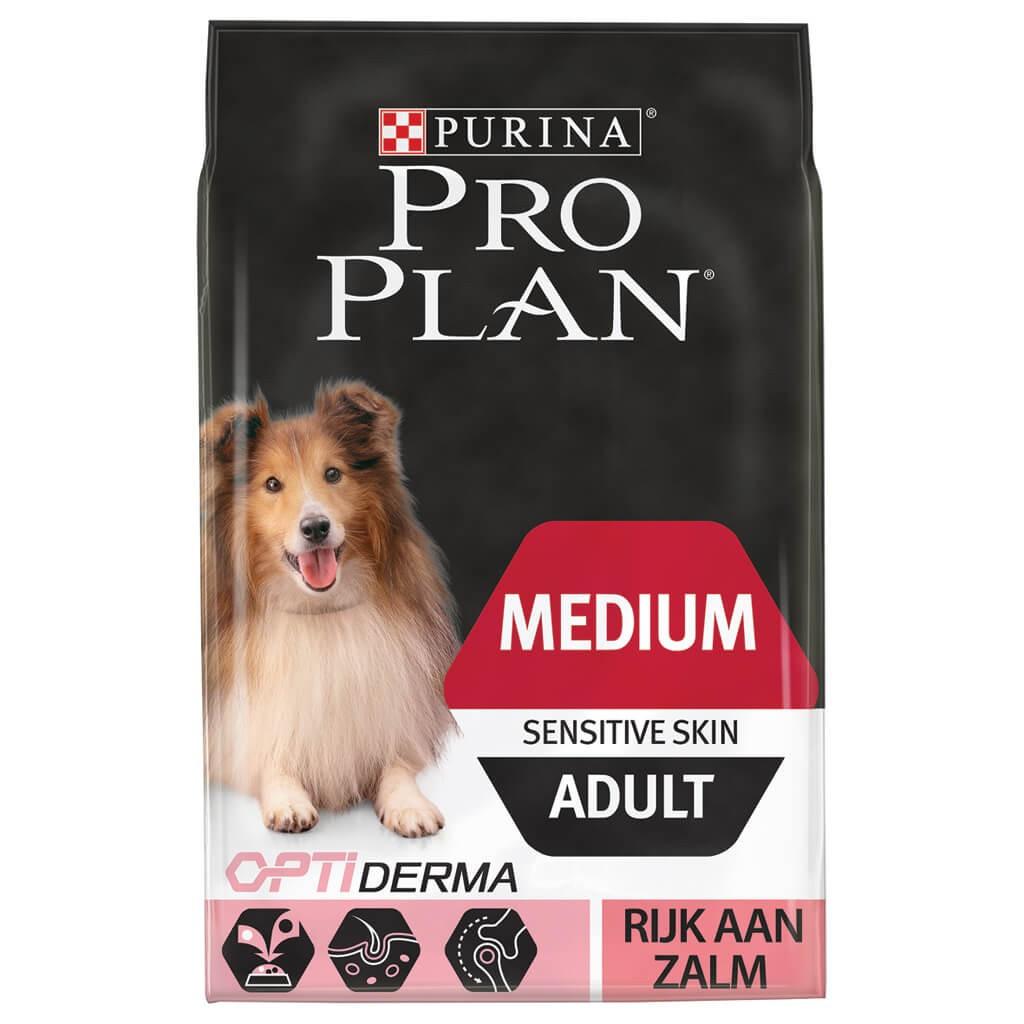 Pro Plan hondenvoer Medium Adult Sensitive Skin 3 kg