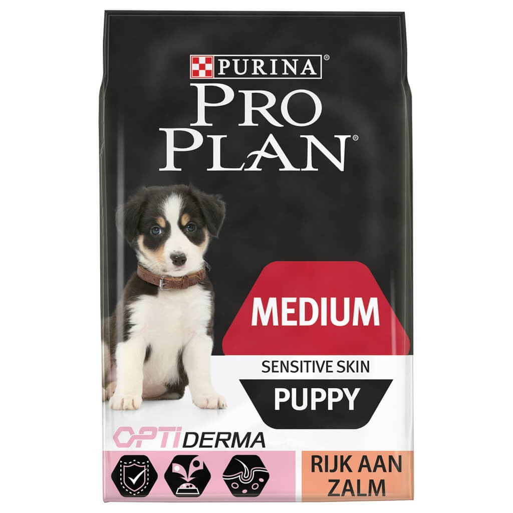Pro Plan hondenvoer Medium Puppy Sensitive Skin 3 kg