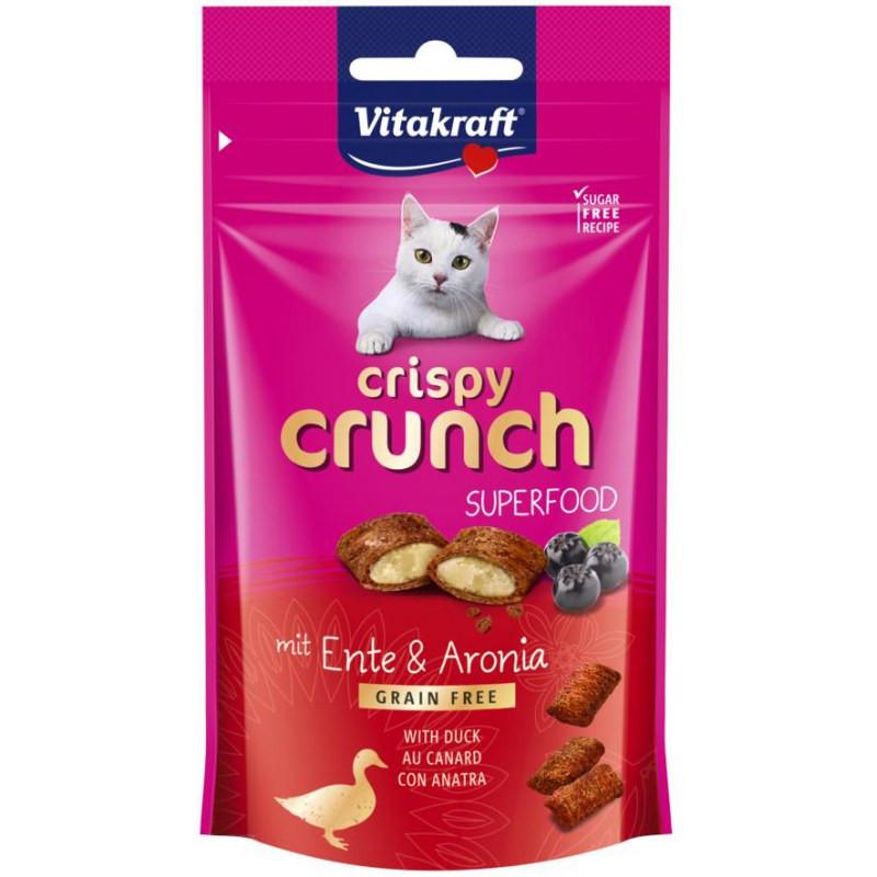 Vitakraft Crispy Crunch eend en aronia 60 gr