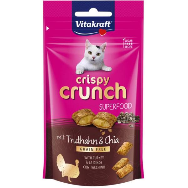 Vitakraft Crispy Crunch kalkoen en chia 60 gr
