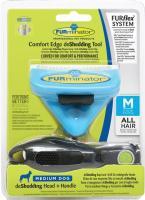 FURminator FURflex deShedding combo dog Medium